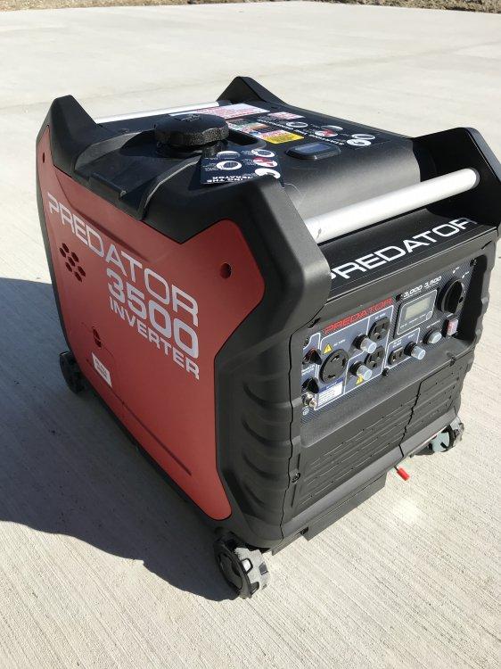 3500 Ultra quiet generator